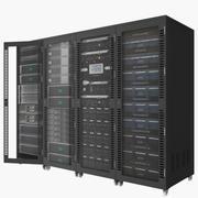 Serverskåpet 3d model