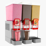 Dispensador de Bebidas Batido de Leche modelo 3d