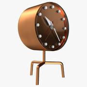 Медные часы треноги Vitra 3d model