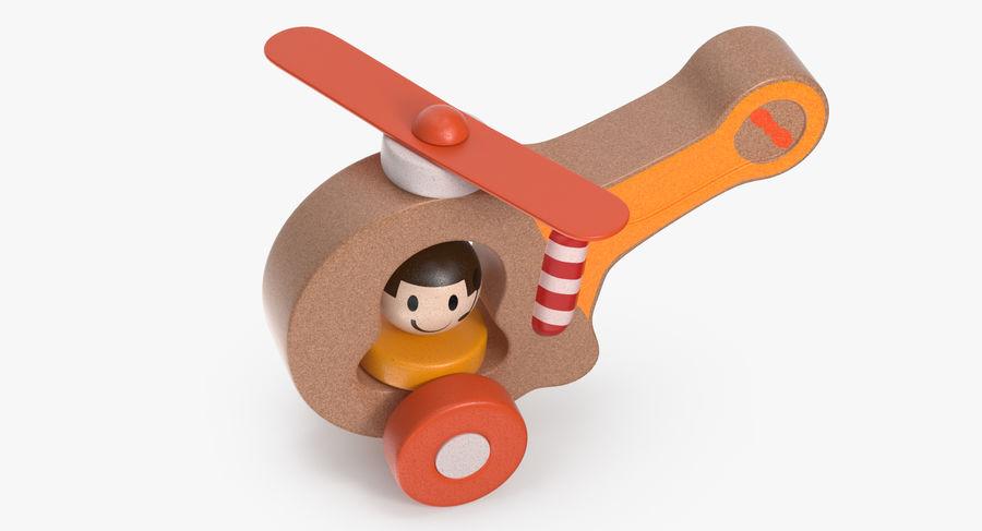 おもちゃのヘリコプター royalty-free 3d model - Preview no. 5