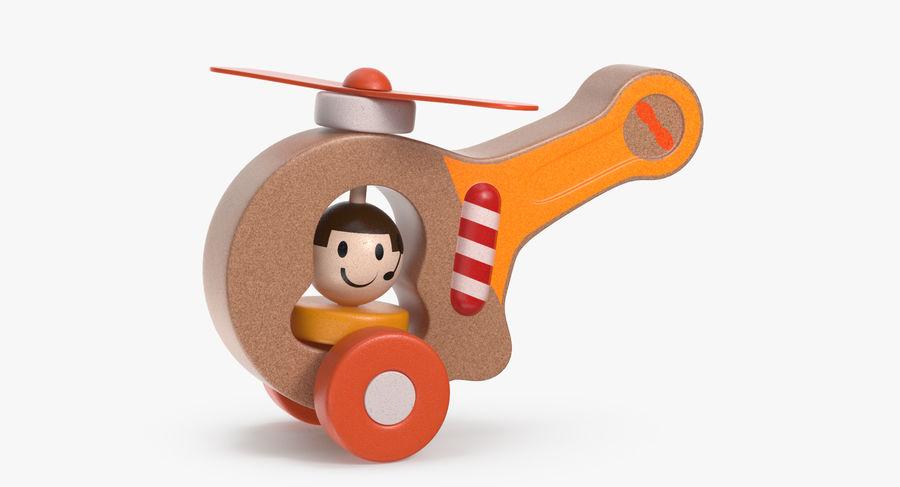 おもちゃのヘリコプター royalty-free 3d model - Preview no. 2