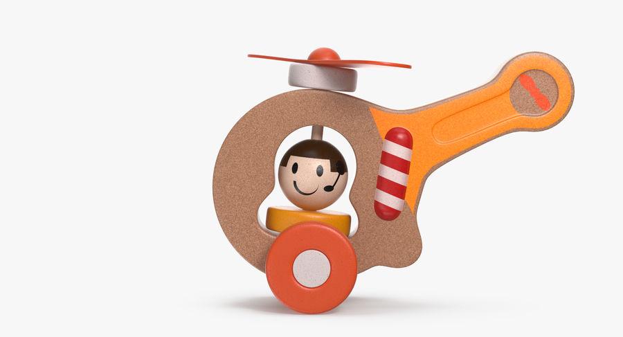 おもちゃのヘリコプター royalty-free 3d model - Preview no. 4