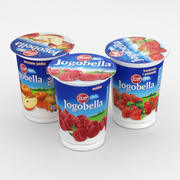 Collezione Zott Jogobella Yoghurt 400g 2018 3d model