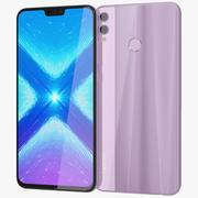 Honor 8X Pink 3d model