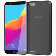Honor 7S Black 3d model