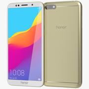 Honor 7S Gold modelo 3d