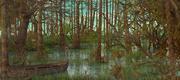 Fantasy Swamp Landscape 3d model