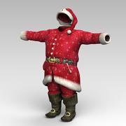 Santa Odzież 3d model
