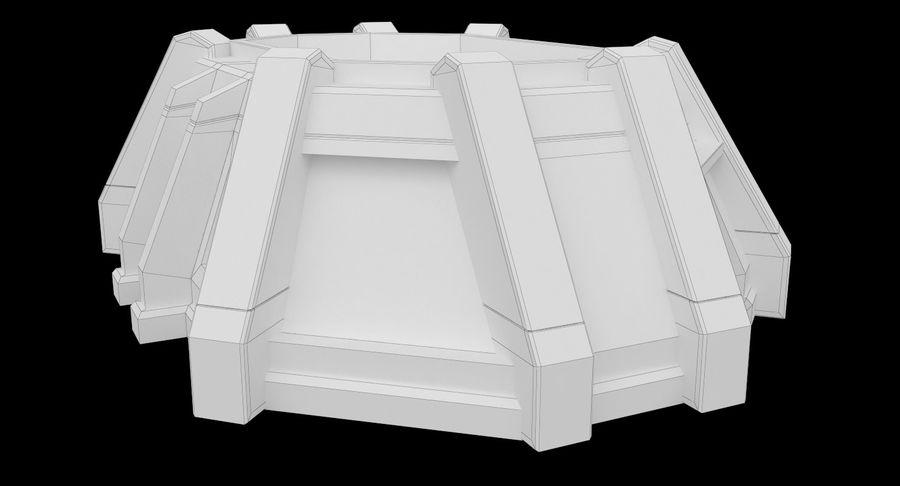 陣地壕 royalty-free 3d model - Preview no. 14