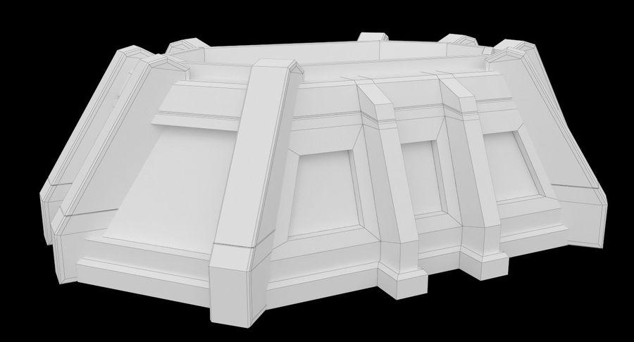 陣地壕 royalty-free 3d model - Preview no. 13