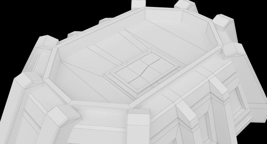 陣地壕 royalty-free 3d model - Preview no. 16