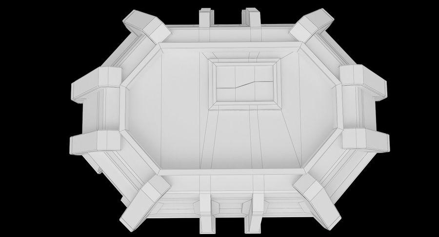 陣地壕 royalty-free 3d model - Preview no. 15