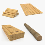 Wood 3D Models Collection 3d model