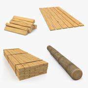 Wood 3D Modelsコレクション 3d model