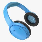 Draadloze hoofdtelefoon algemeen 3d model