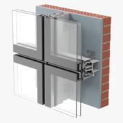 Construção de vidros 2 3d model