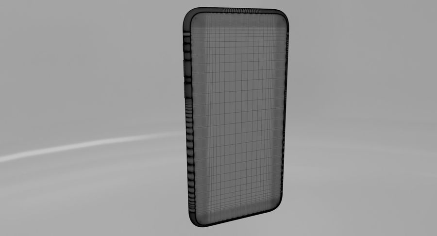 iPhone X royalty-free 3d model - Preview no. 8