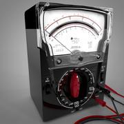 Triplett 630-PL Analog Multimeter L032 3d model