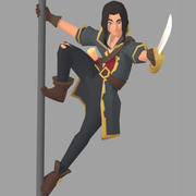 Poly Pirate 3d model
