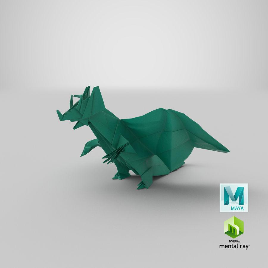 3D Origami | Kathy May & Silas | 900x900