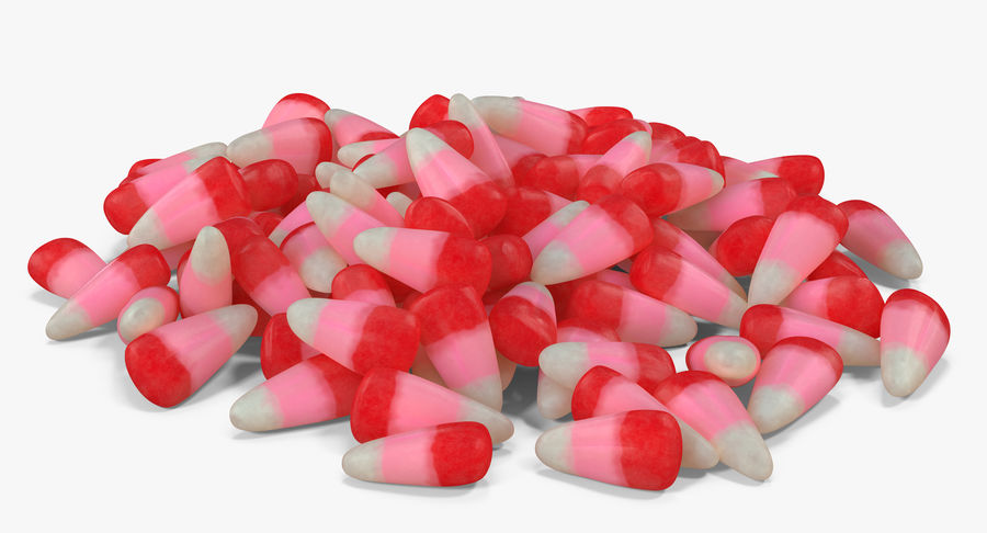 Valentine Corn 3 royalty-free modelo 3d - Preview no. 12