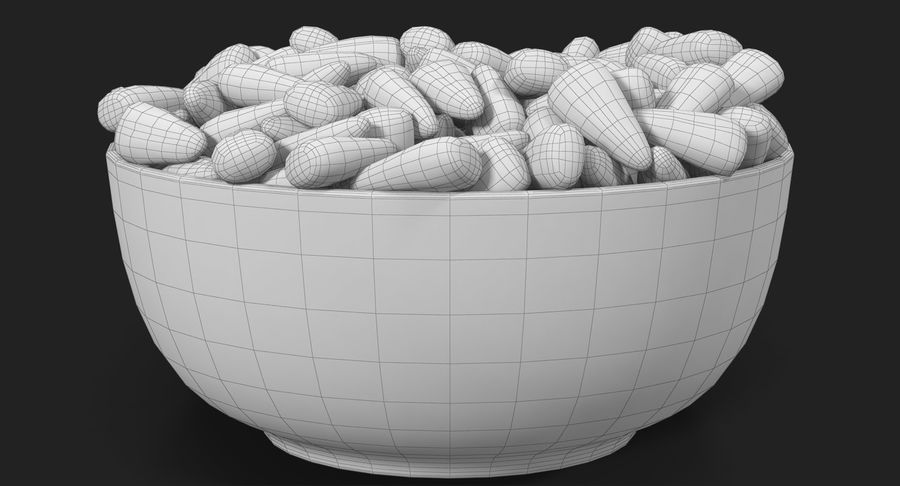 Valentine Corn 4 royalty-free modelo 3d - Preview no. 30