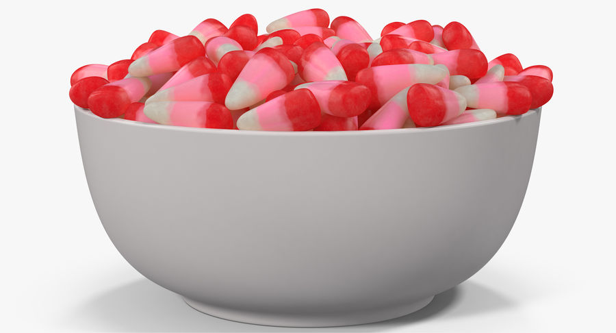 Valentine Corn 4 royalty-free modelo 3d - Preview no. 13