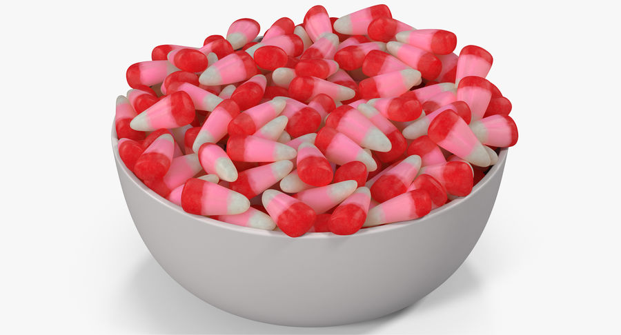 Valentine Corn 4 royalty-free modelo 3d - Preview no. 3
