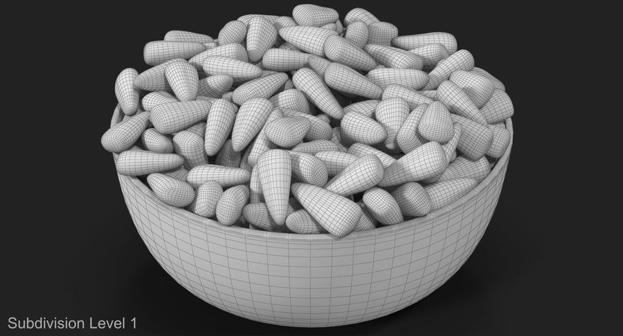 Valentine Corn 4 royalty-free modelo 3d - Preview no. 17