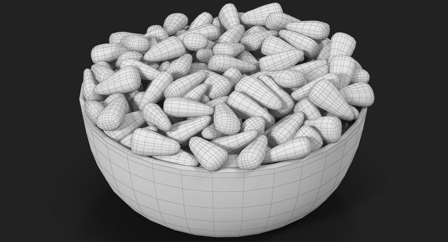 Valentine Corn 4 royalty-free modelo 3d - Preview no. 21