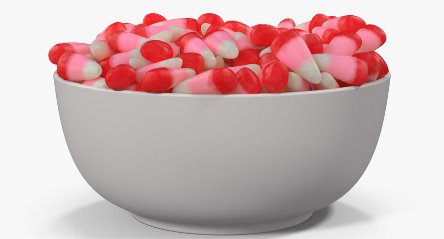 Valentine Corn 4 royalty-free modelo 3d - Preview no. 12