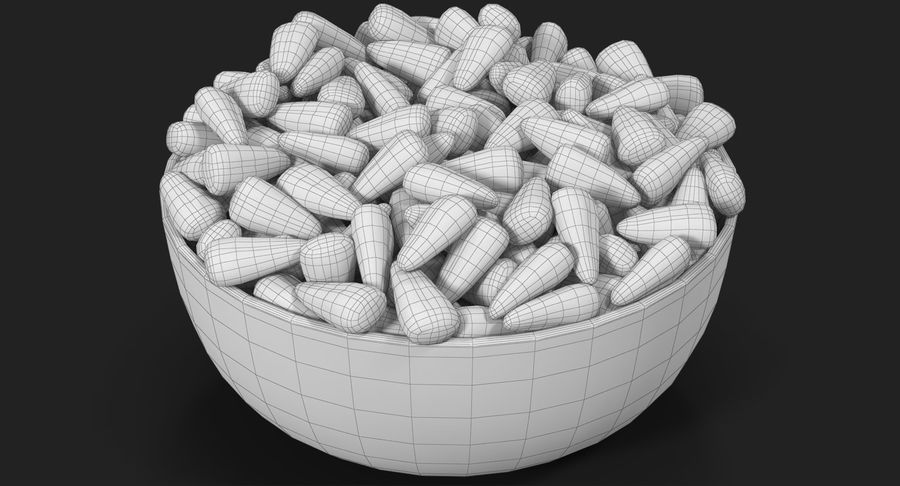 Valentine Corn 4 royalty-free modelo 3d - Preview no. 22
