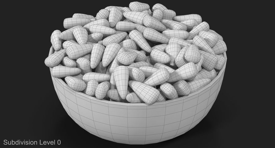Valentine Corn 4 royalty-free modelo 3d - Preview no. 16