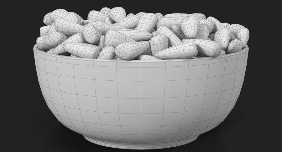 Valentine Corn 4 royalty-free modelo 3d - Preview no. 32