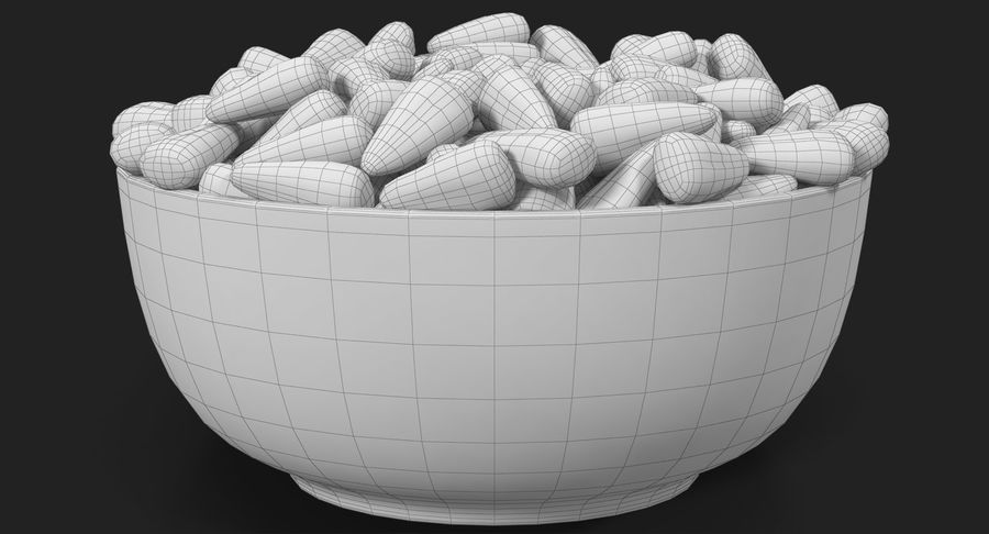 Valentine Corn 4 royalty-free modelo 3d - Preview no. 31