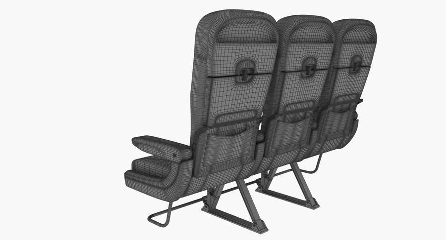 비행기 의자 2 royalty-free 3d model - Preview no. 12