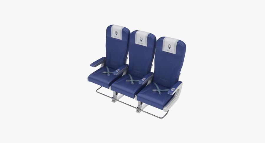 비행기 의자 2 royalty-free 3d model - Preview no. 16