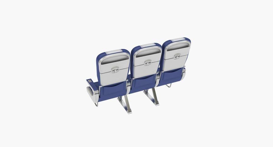 비행기 의자 2 royalty-free 3d model - Preview no. 17