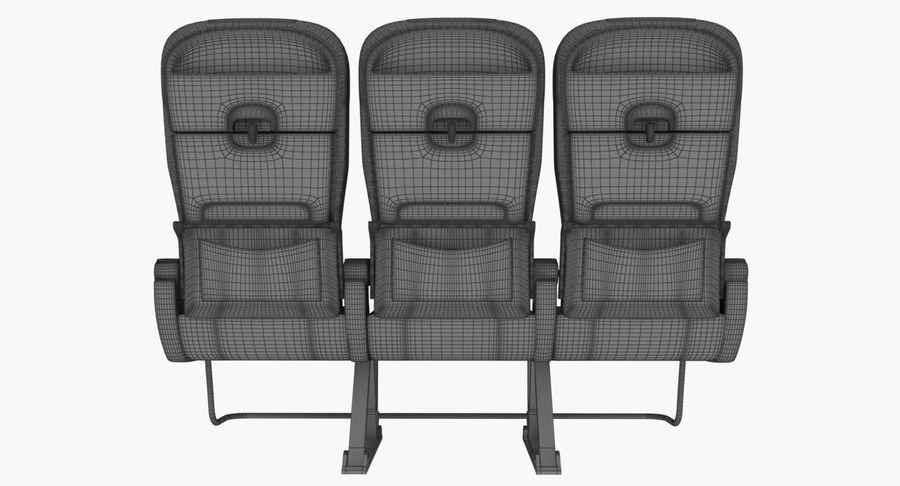 비행기 의자 2 royalty-free 3d model - Preview no. 15