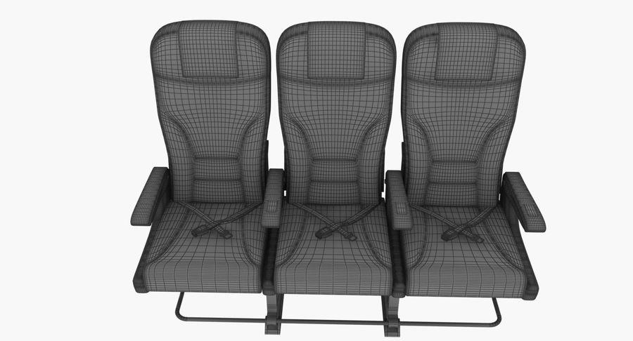 비행기 의자 2 royalty-free 3d model - Preview no. 13