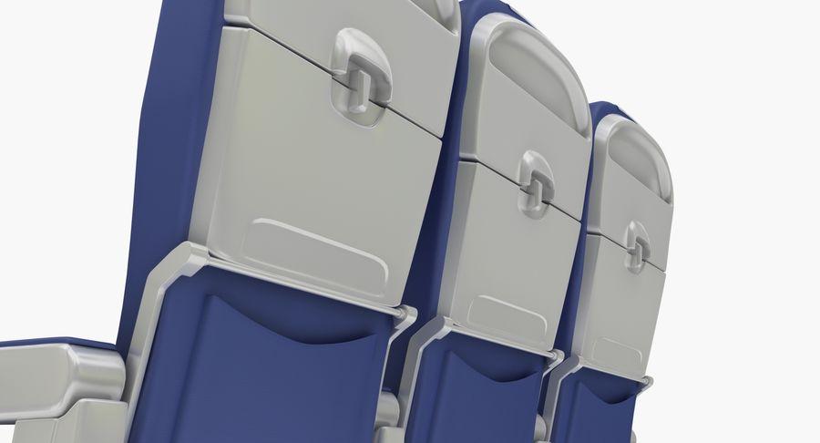 비행기 의자 2 royalty-free 3d model - Preview no. 9