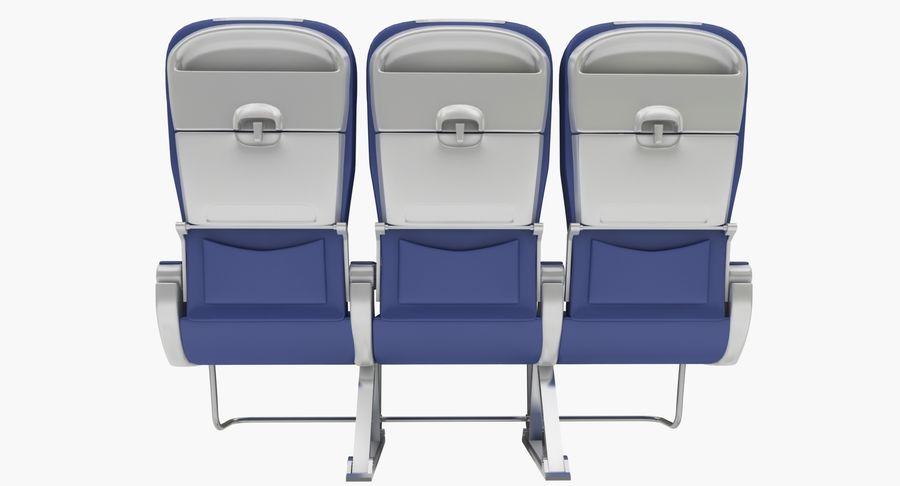 비행기 의자 2 royalty-free 3d model - Preview no. 6