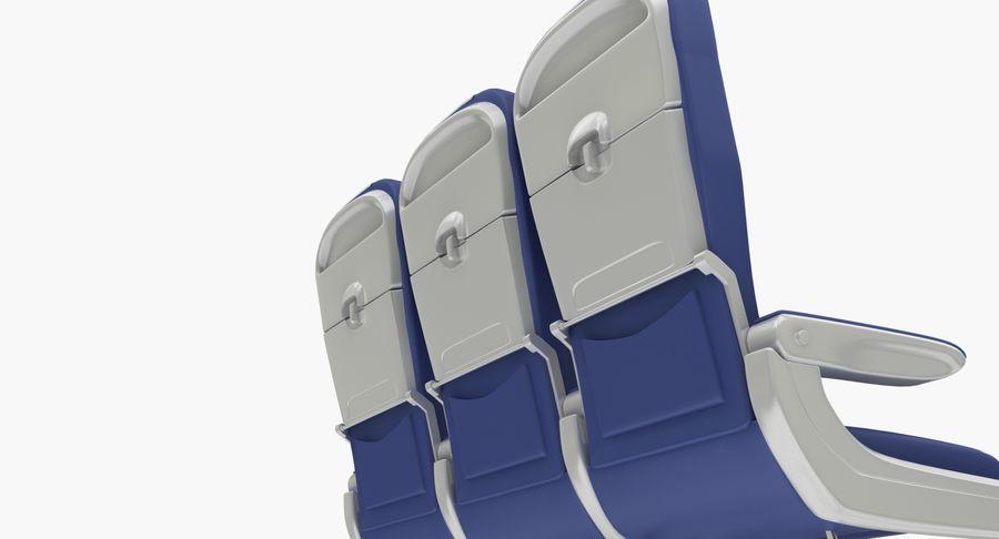비행기 의자 2 royalty-free 3d model - Preview no. 10