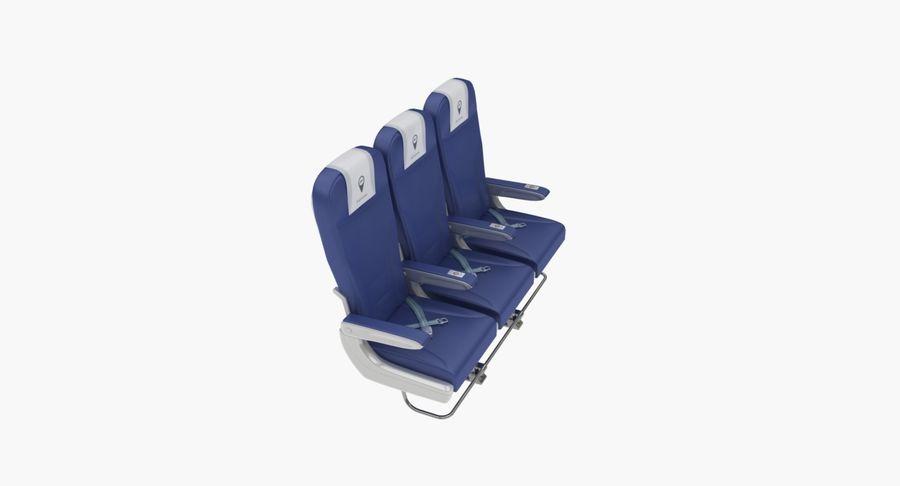 비행기 의자 2 royalty-free 3d model - Preview no. 14