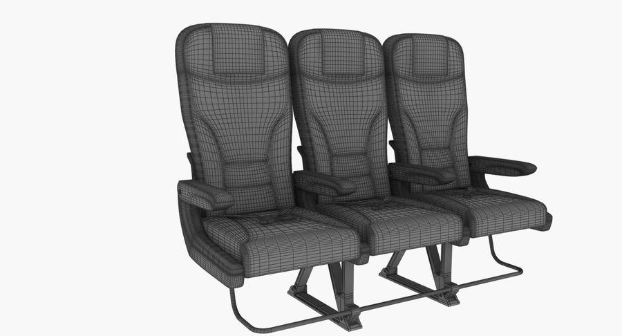 비행기 의자 2 royalty-free 3d model - Preview no. 11