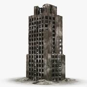 Bâtiment en ruine 3d model