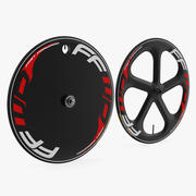 Трек Bike Wheelset 3D модель 3d model