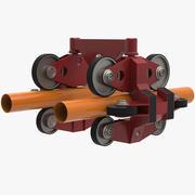 Roller Coaster Wheel 3d model
