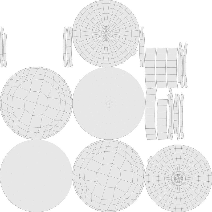 望远镜 royalty-free 3d model - Preview no. 16
