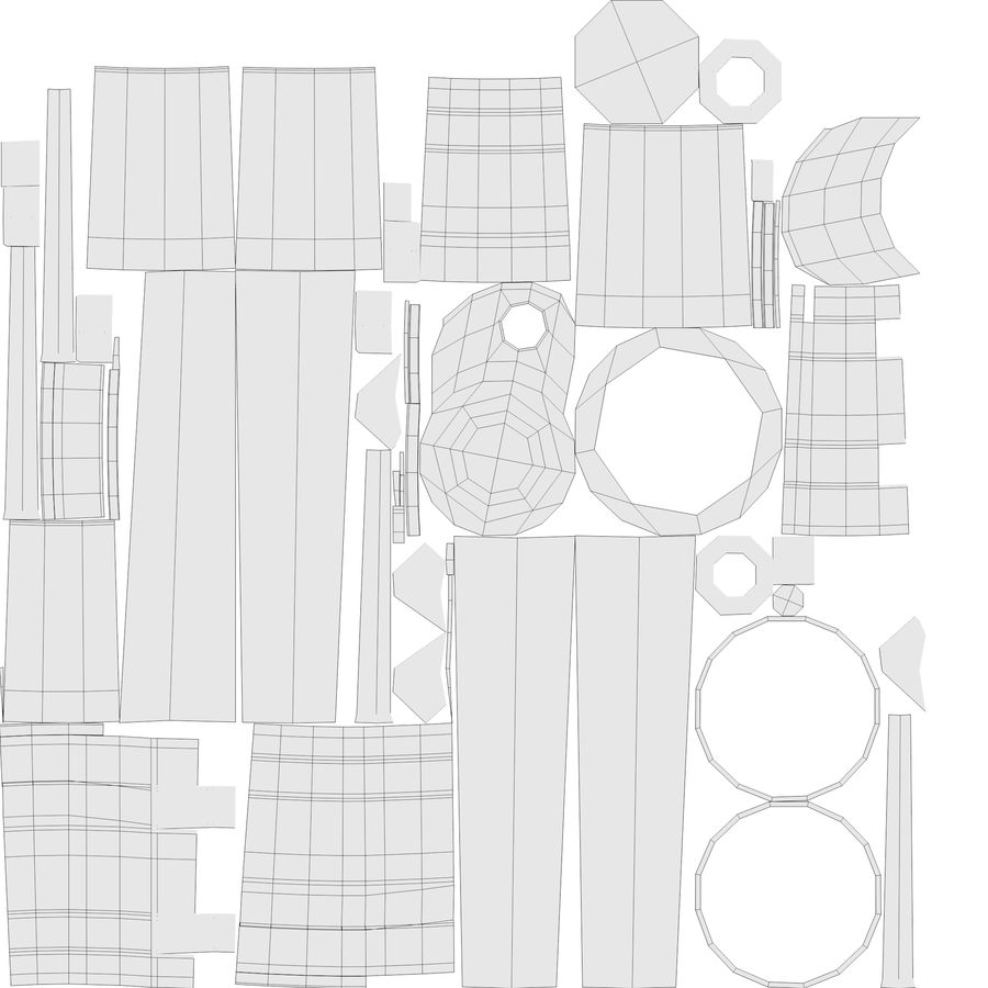 望远镜 royalty-free 3d model - Preview no. 13